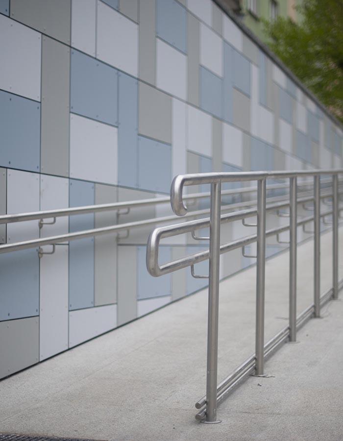 Rampes d'accessibilité