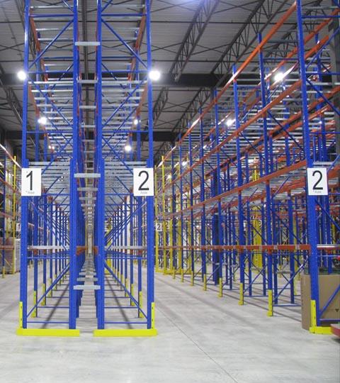 Protections rack et quais